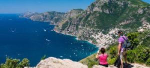 trekking a Salerno